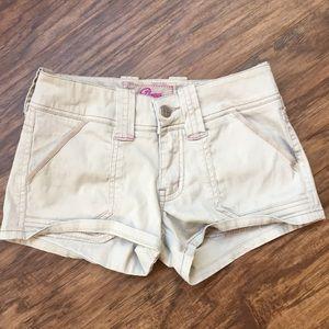 Plugg Khaki Shorts